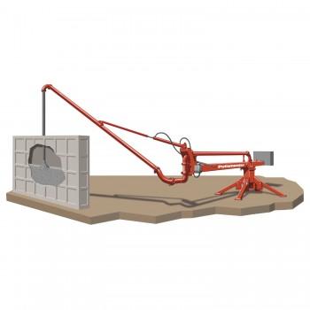 Дистрибутор на бетон тип паяк